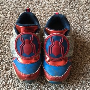 Marvel Spider-Man Red Blue Light-up Sneakers